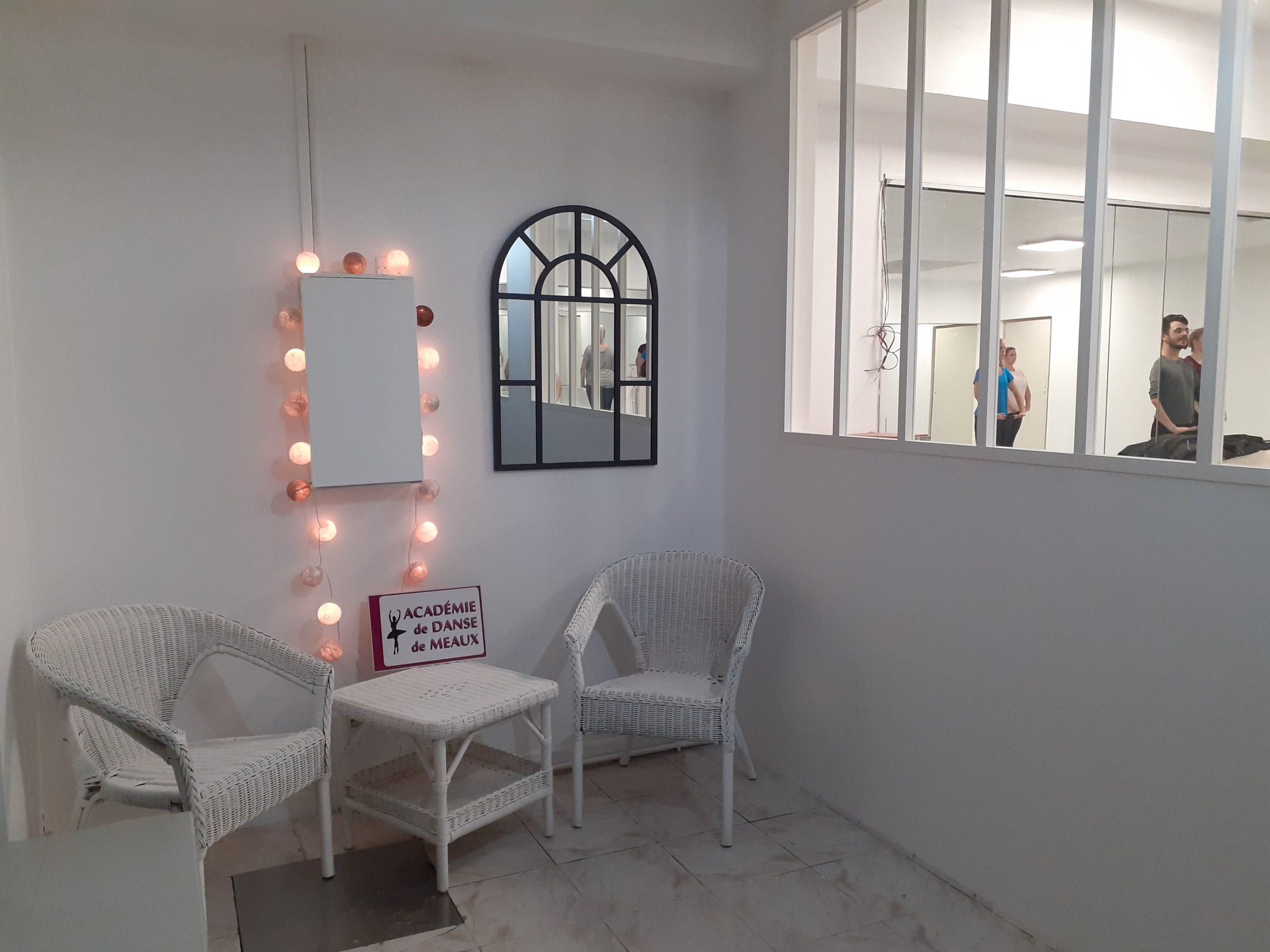 Notre studio disposant de deux salles de danse